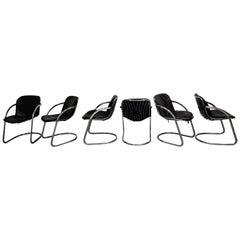 Gastone Rinaldi Dining Chairs, 1970s