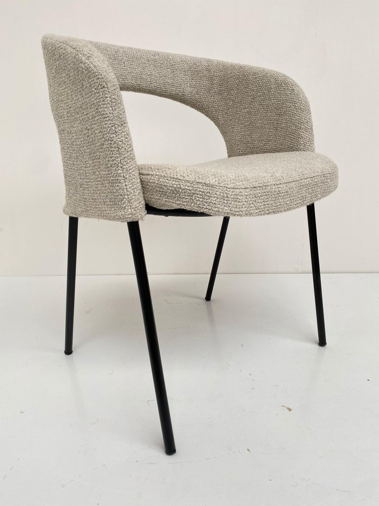 Gastone Rinaldi Dining Chairs from Hotel 'Abano Terme', 1960  with certificate In Good Condition For Sale In bergen op zoom, NL