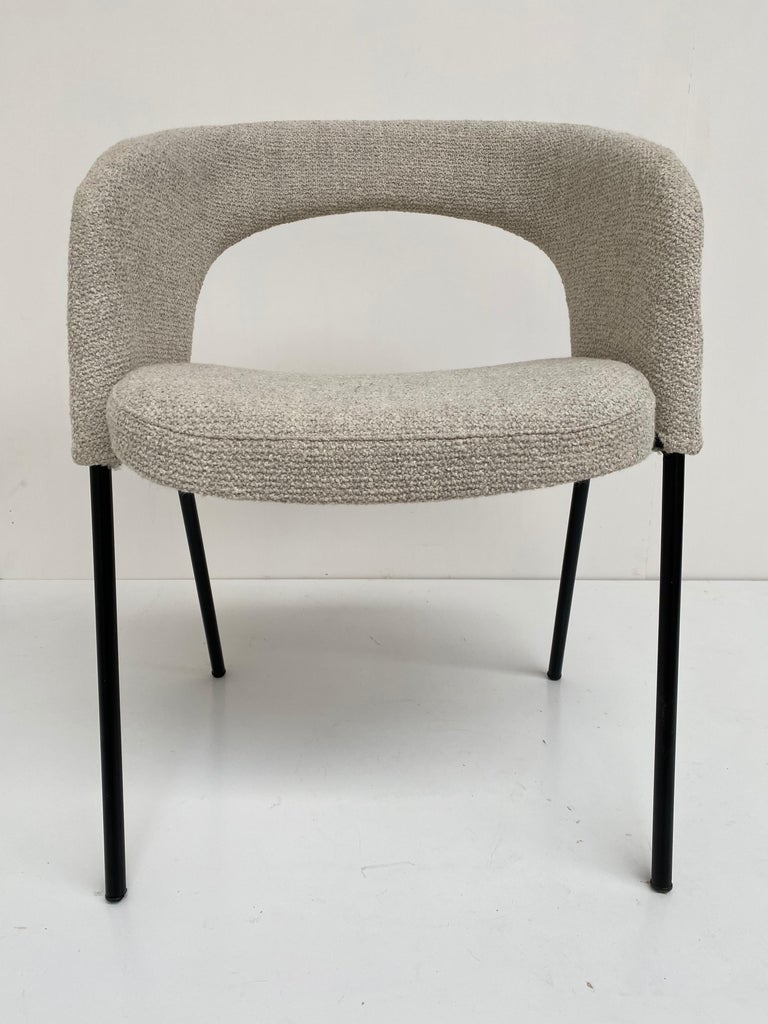 Mid-20th Century Gastone Rinaldi Dining Chairs from Hotel 'Abano Terme', 1960  with certificate For Sale