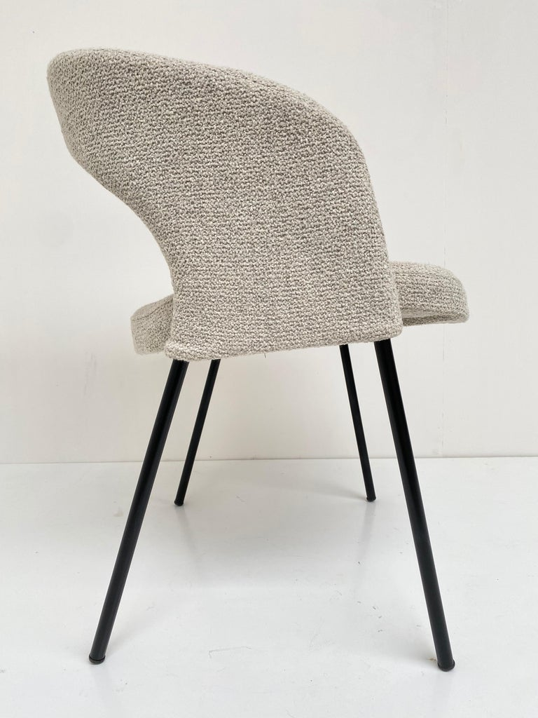 Gastone Rinaldi Dining Chairs from Hotel 'Abano Terme', 1960  with certificate For Sale 1