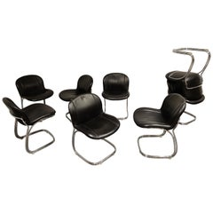Gastone Rinaldi 'Sabrina' Dining Chairs, 1970s