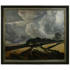 Gathering Storm Clouds Landscape