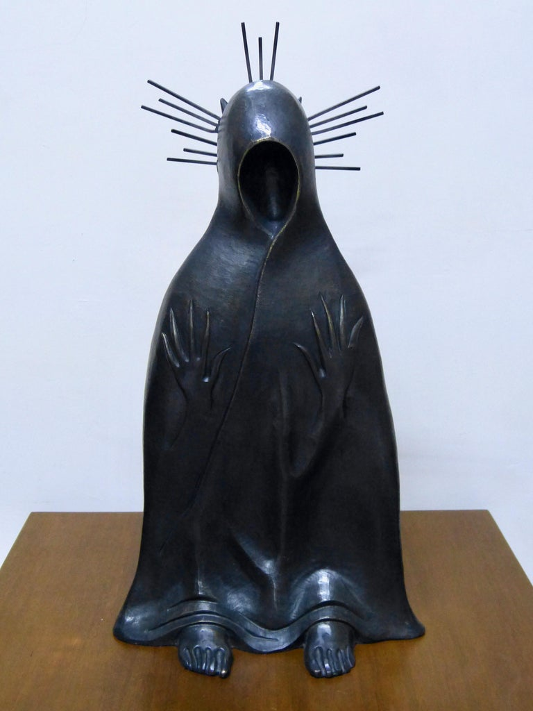Title: Gato de la Noche (night cat)