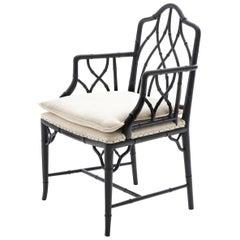 Gauguin Black Armchair