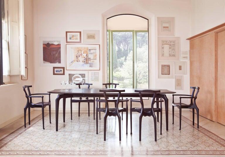 Spanish Gaulino Chair, Black For Sale