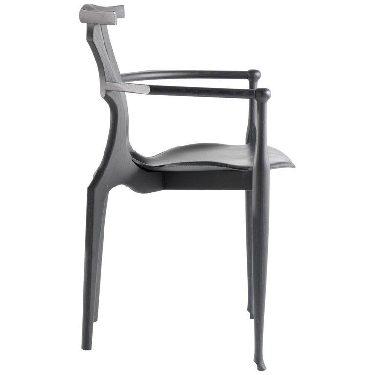 Gaulino Chair, Black For Sale