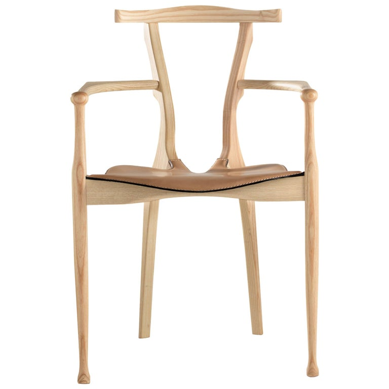 Gaulino Chair, Natural For Sale