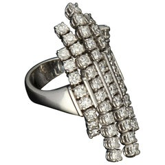 Gavello Diamond Flexible Ergonomic Kinetic Gold Fashion Ring