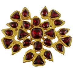 Gavilane Paris Vintage Jewelled Brooch