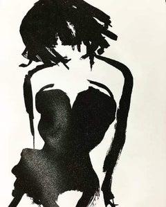 Burlesque Diamond, Gavin Dobson, Limited Edition Print, Firgure