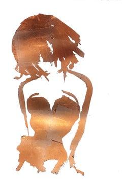 Gavin Dobson, Burlesque – Dirty Gold, Contemporary Art, Affordable Art
