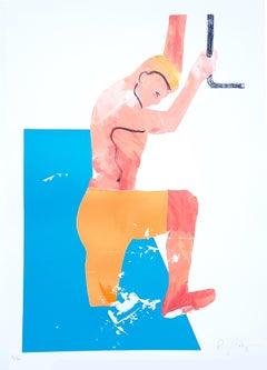 Gavin Dobson, Dipping Ricky, Contemporary Art, Affordable Art, Summer Art