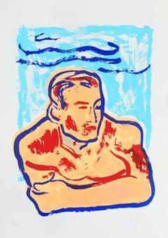 Gavin Dobson, Hey Jimmy, Limited Edition Screen Print, Contemporary Art