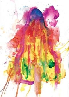 Gavin Dobson, Melted Summers - Rocket, Colourful Art, Affordable Art, Art Online
