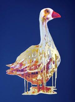 The Golden Goose, Gavin Dobson, Limited Edition Screen Print, Contemporary Art