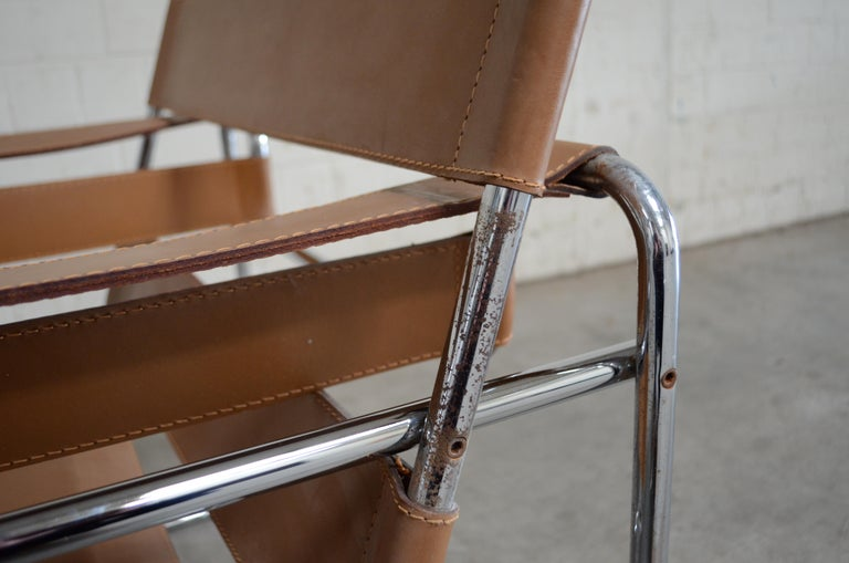 Gavina Wassily Chair by Marcel Breuer For Sale 3