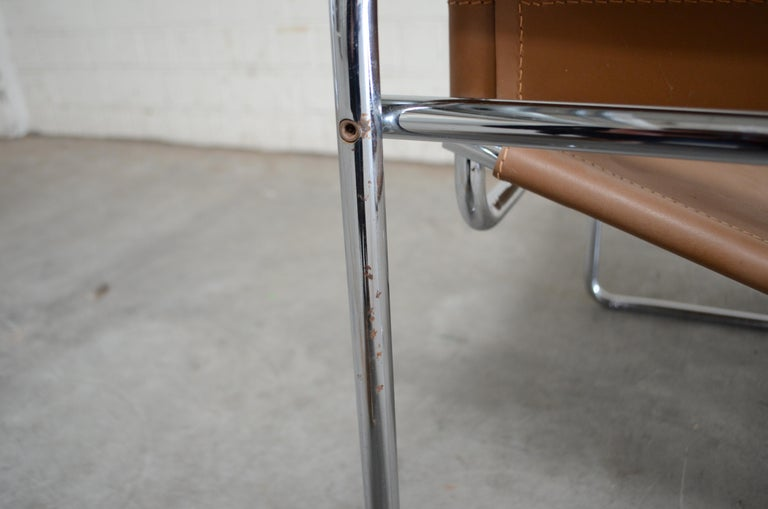 Gavina Wassily Chair by Marcel Breuer For Sale 4