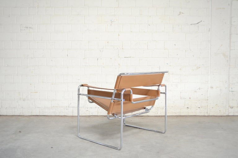 Gavina Wassily Chair by Marcel Breuer For Sale 7
