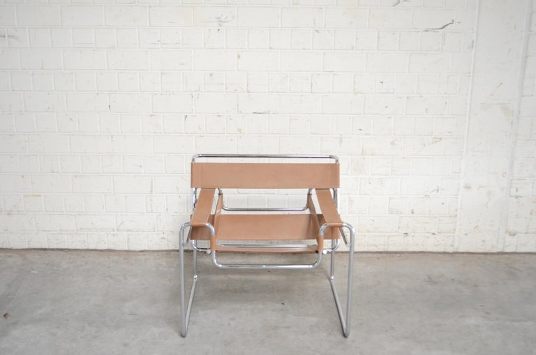 Bauhaus Gavina Wassily Chair by Marcel Breuer For Sale