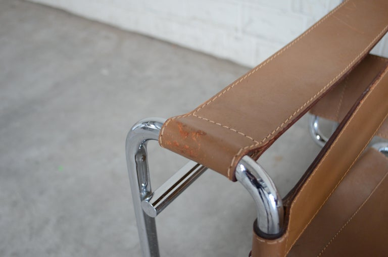Gavina Wassily Chair by Marcel Breuer For Sale 1