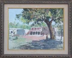 Texas Impressionist Palette Knife Landscape