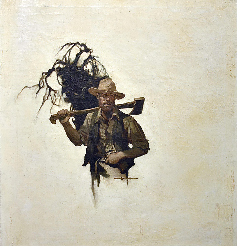 Illustration for 'One Fair Daughter'