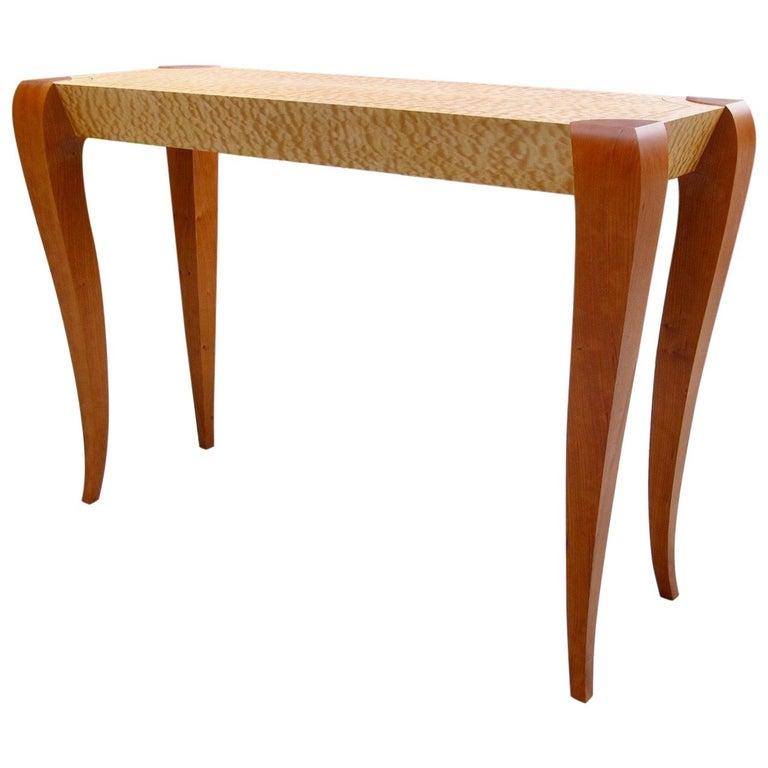 Gazelle Console Table In Stock Contemporary Sofa Table In Art Deco Style For Sale At 1stdibs