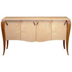 Gazelle Sideboard, Handcrafted Contemporary Credenza with Art Deco Style