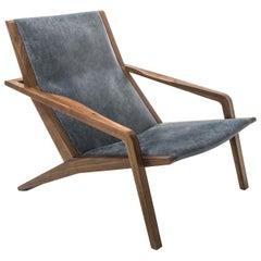 Gazzella Gray Armchair