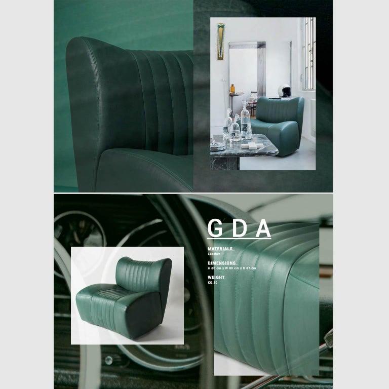 GDA Gentlemen Driving Armchair Spinzi Design  5