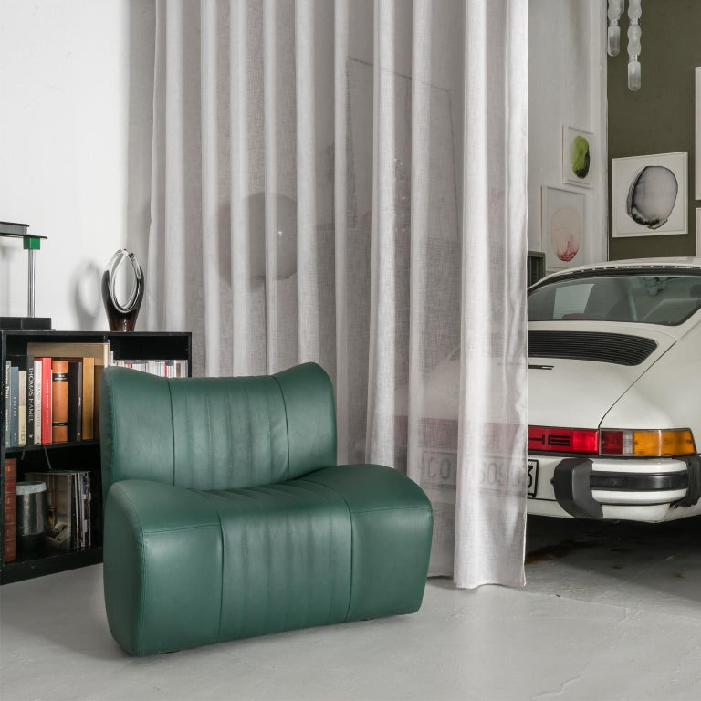 Italian GDA Gentlemen Driving Armchair Spinzi Design