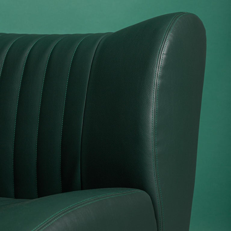 Contemporary GDA Gentlemen Driving Armchair Spinzi Design
