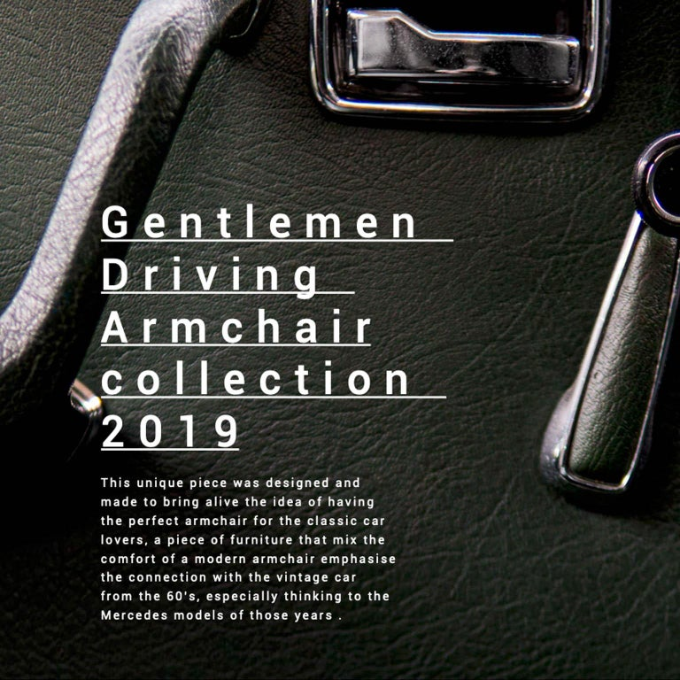 GDA Gentlemen Driving Armchair Spinzi Design  2