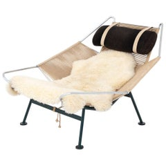 GE 225 Early Flag Halyard Chair by Hans J. Wegner