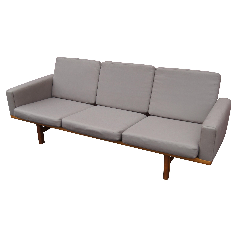 GE-236 Three-Seat Sofa by Hans Wegner for GETAMA