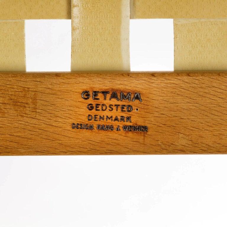GE 375 Side Chair by Hans Wegner for GETAMA, Denmark, 1960s For Sale 3