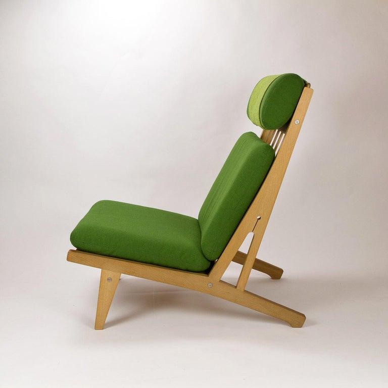 Mid-Century Modern GE 375 Side Chair by Hans Wegner for GETAMA, Denmark, 1960s For Sale