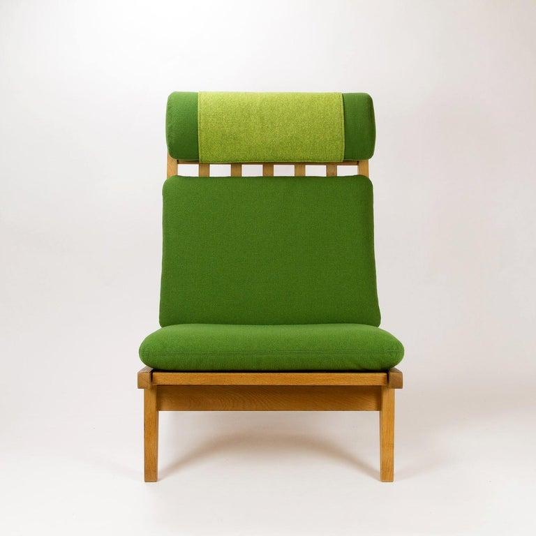 Mid-20th Century GE 375 Side Chair by Hans Wegner for GETAMA, Denmark, 1960s For Sale