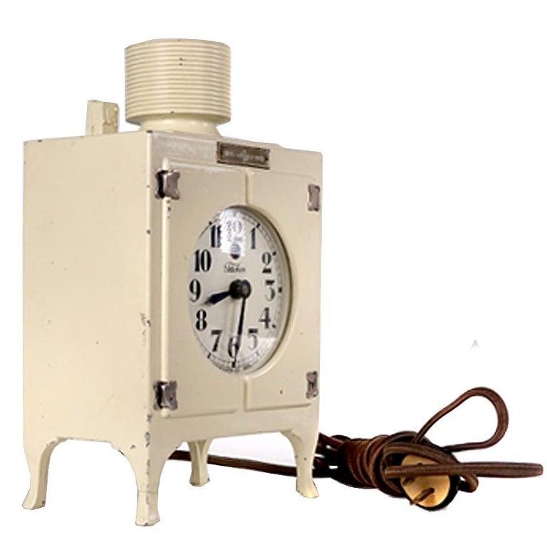 Industrial GE Refrigerator Advertising Promo Clock For Sale