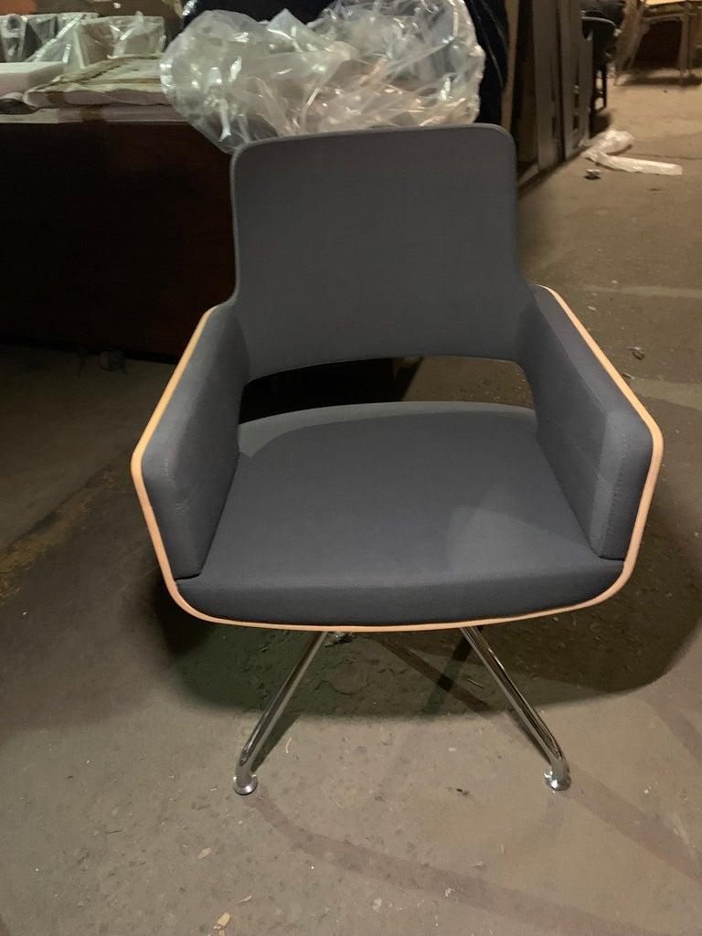Gebruder T S 847 D Swivel Armchair For Sale 1
