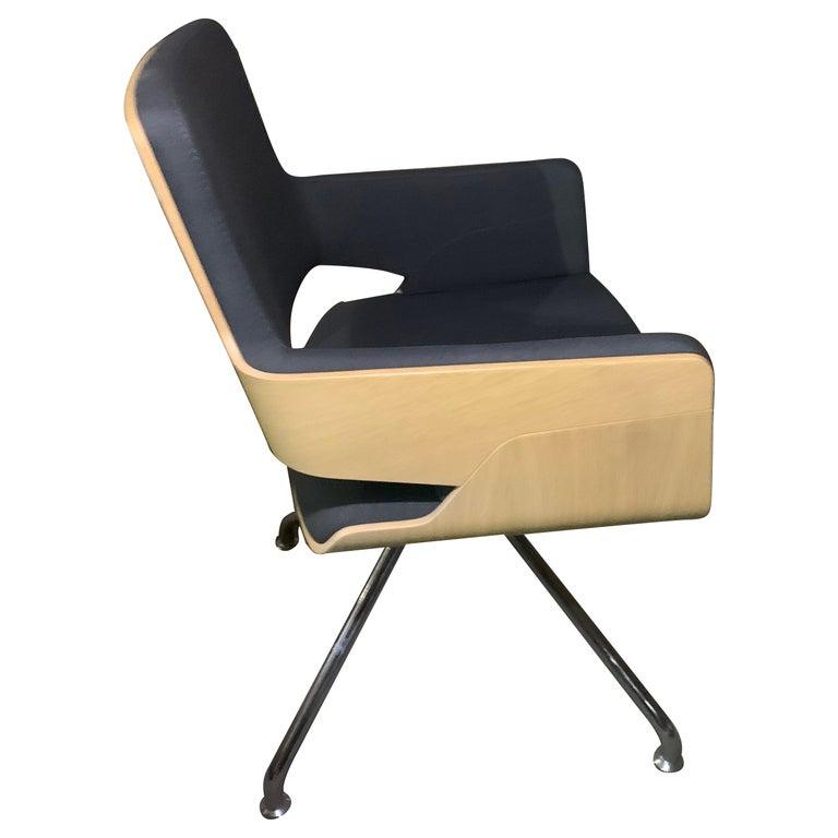 Gebruder T S 847 D Swivel Armchair For Sale