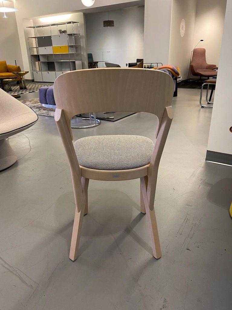 German  Gebruder T Solid Wood  107P chair Designed by Robert Stadler  For Sale