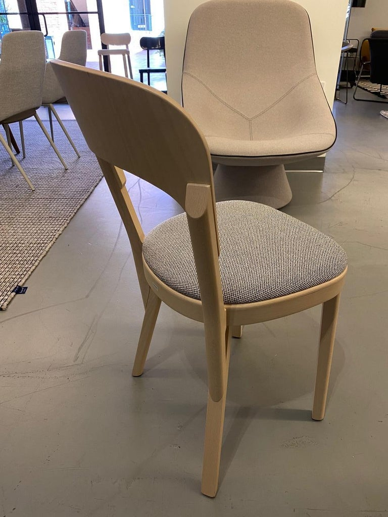 Contemporary  Gebruder T Solid Wood  107P chair Designed by Robert Stadler  For Sale