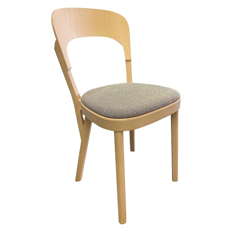 Gebruder T Solid Wood  107P chair Designed by Robert Stadler  For Sale