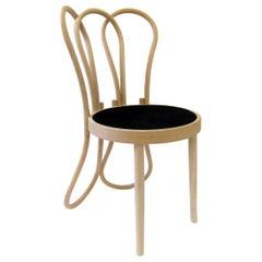 Gebrüder Thonet Vienna GmbH Post Mundus Chair in Beech and Upholstered Seat