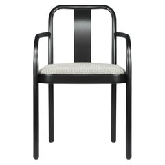 Gebrüder Thonet Vienna GmbH Sugiloo Chair with Armrest & Upholsterd Seat