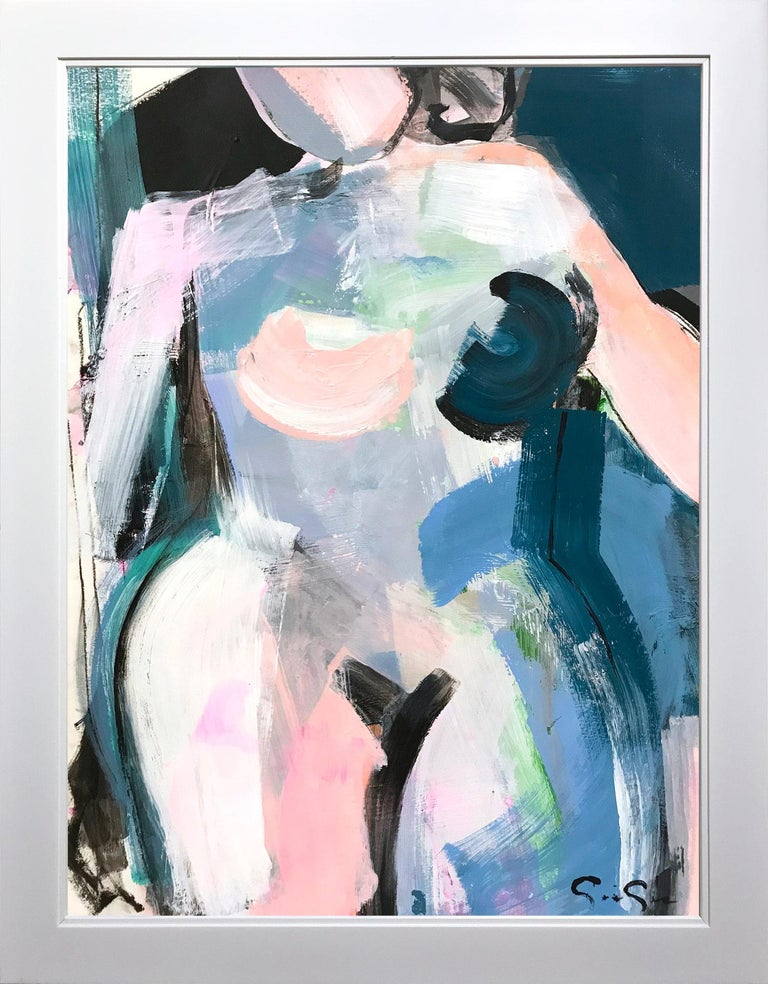 Gee Gee Collins Abstract Painting - All Elegance