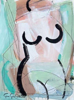Contour by Gee Gee Collins Large Figurative Contemporary painting
