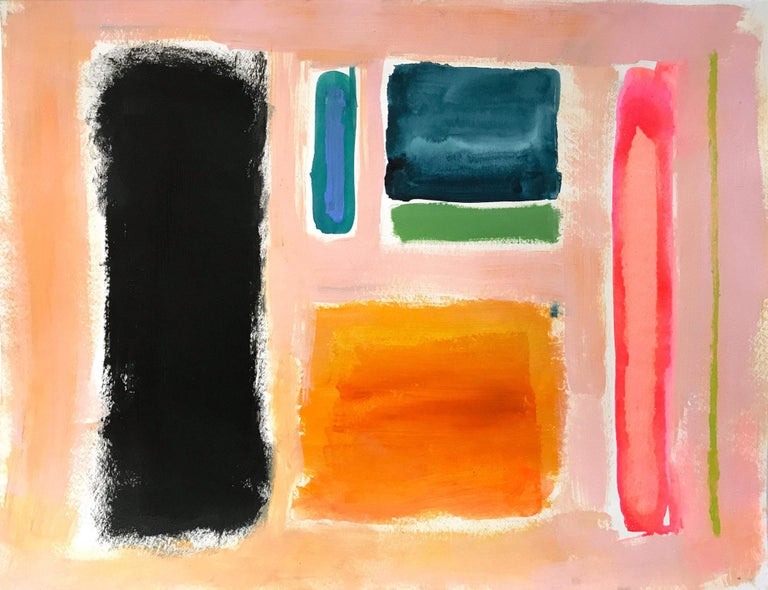 Gee Gee Collins Abstract Painting - History in Full Color (Color Concept)
