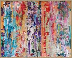 Intellectual Freedom opus III, Painting, Acrylic on Wood Panel